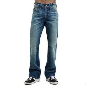 True Religion Billy Seat 34 Bootcut Jeans